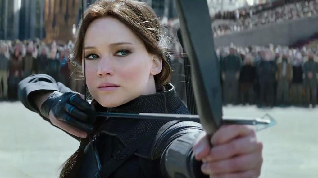 Jennifer Lawrence es Katniss Everdeen en 'Los juegos del hambre'