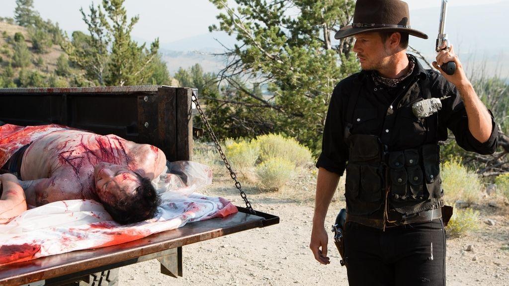 Syfy estrena 'Dead 7', el 'western zombi' escrito por Nick Carter