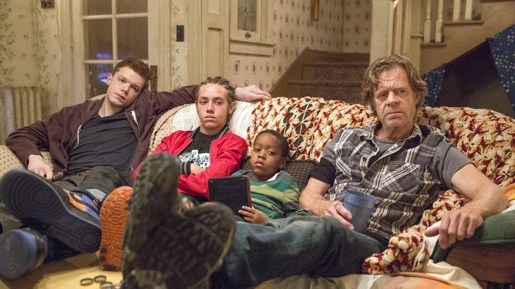 Posados de la sexta temporada de 'Shameless', serie emitida en FDF
