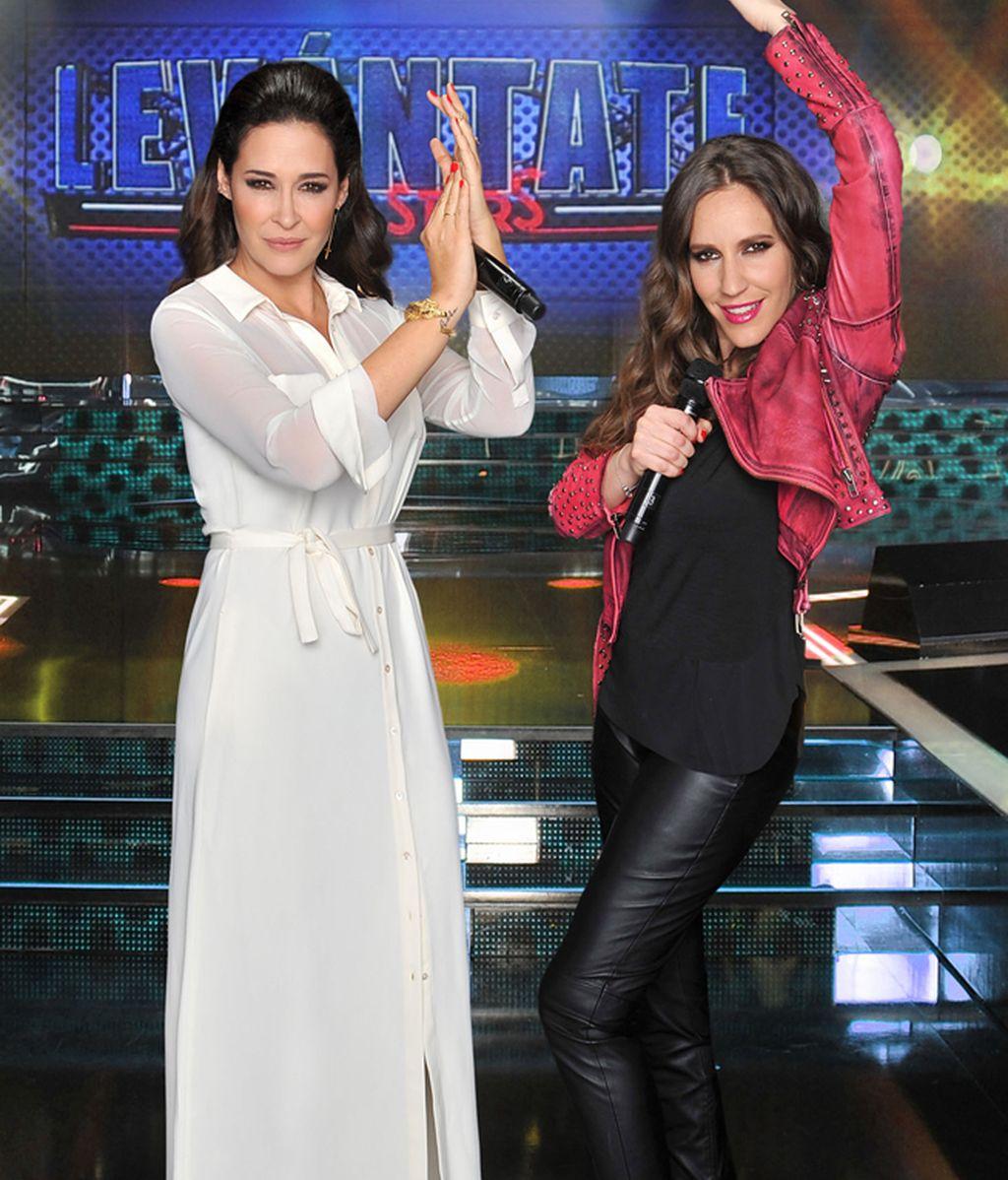 Vicky Martín Berrocal y María Toledo