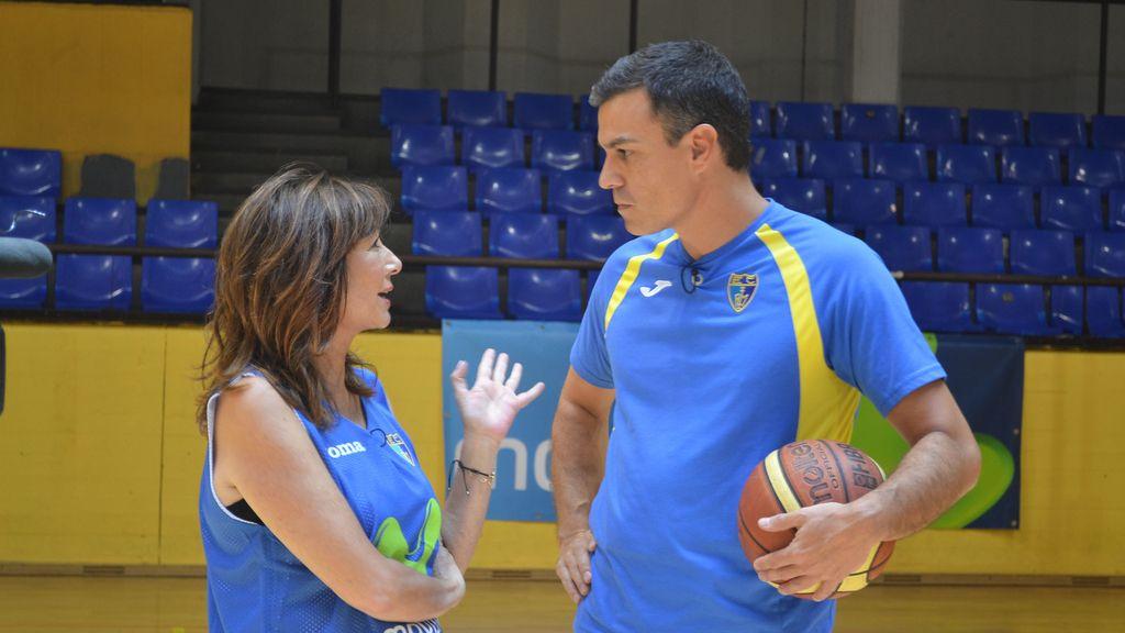 Ana Rosa y Pedro Sánchez
