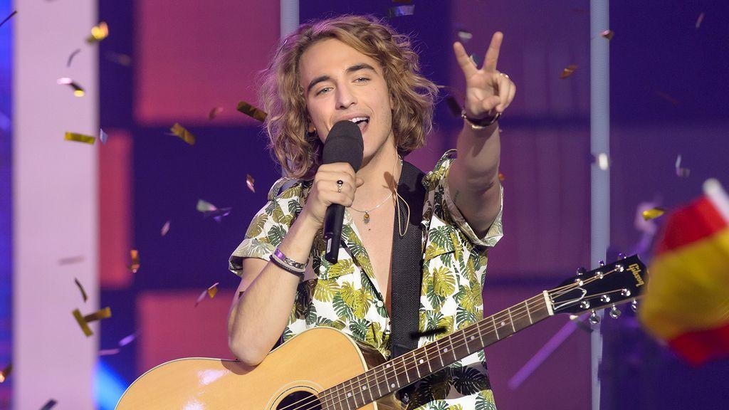 Manel Navarro en 'Objetivo Eurovisión'