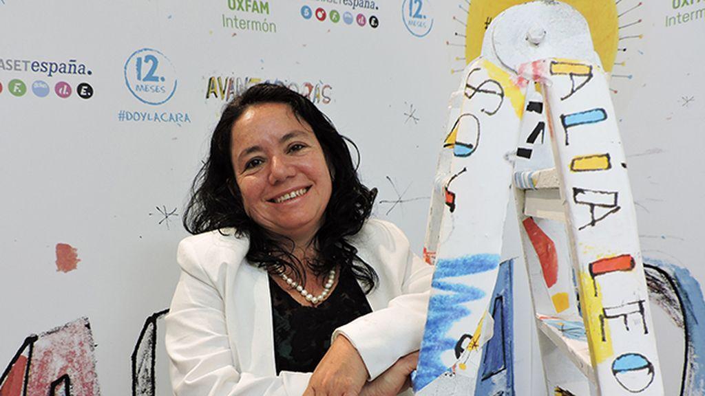 """María Eugenia Cruz: """"Avanzadoras visibiliza los liderazgos que nacen a partir de las violencias sufridas por las mujeres"""""""