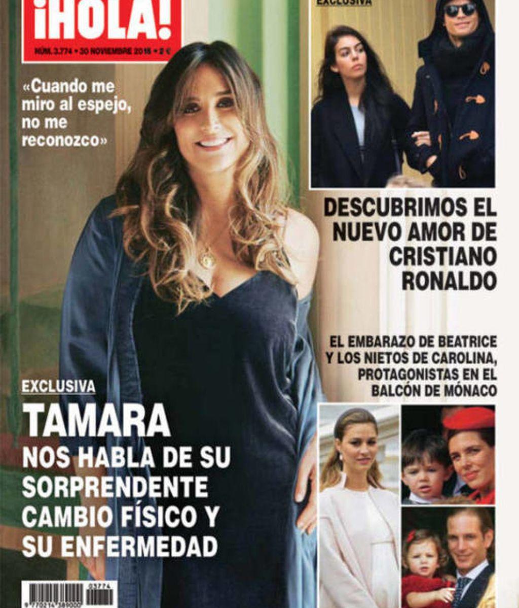 Tamará Falcó, portada de '¡Hola!'