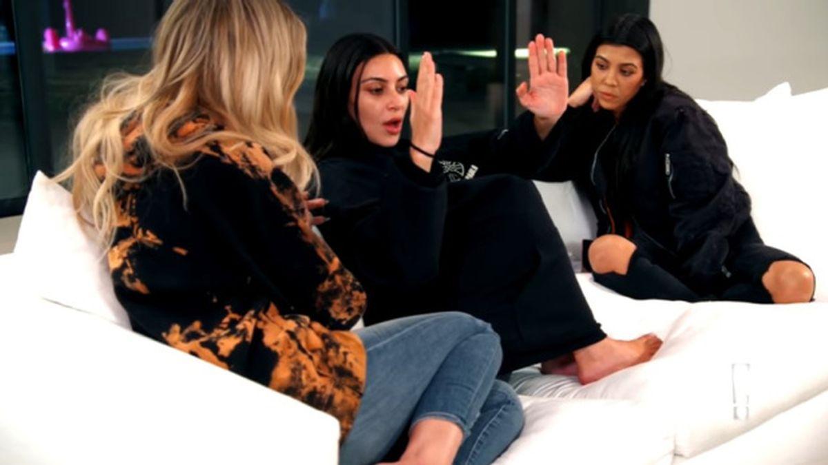 Kim Kardashian cuenta su atraco en París a sus hermanas en el 'reality' del clan