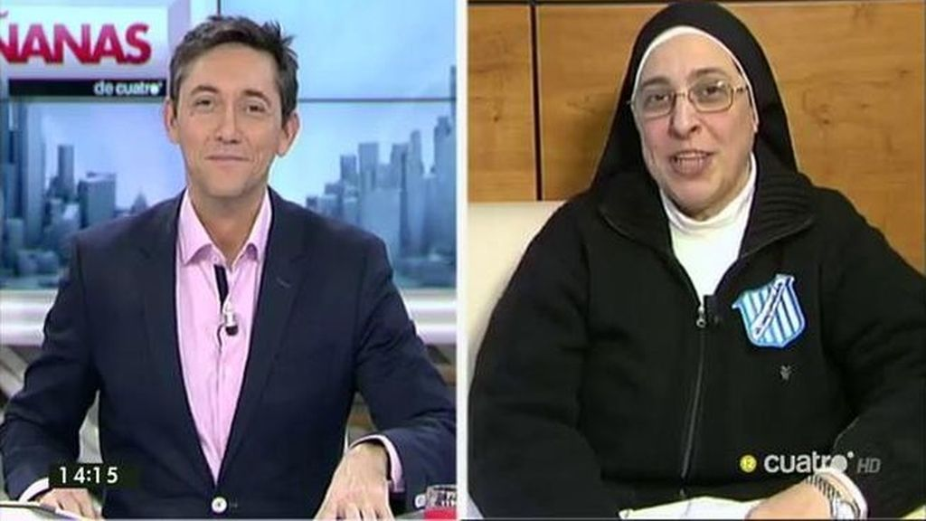 """Sor Lucía: """"Gracias por estos 200.000€ que hemos recogido en 'Los Comprometidos' y que irán a los que más lo necesitan"""""""