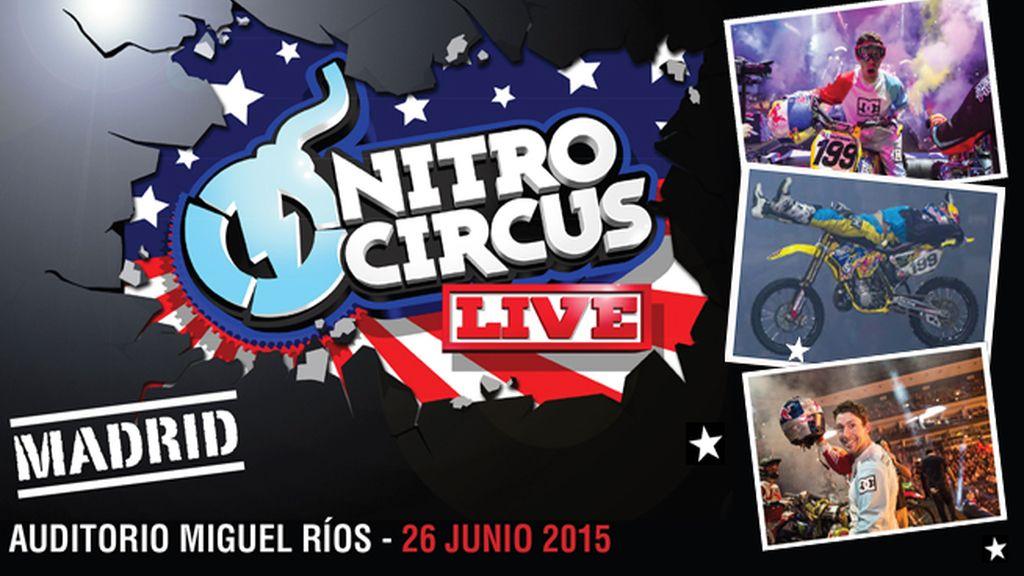 Llega por primera vez a España Nitro Circus, compra tu entrada en Taquilla Mediaset