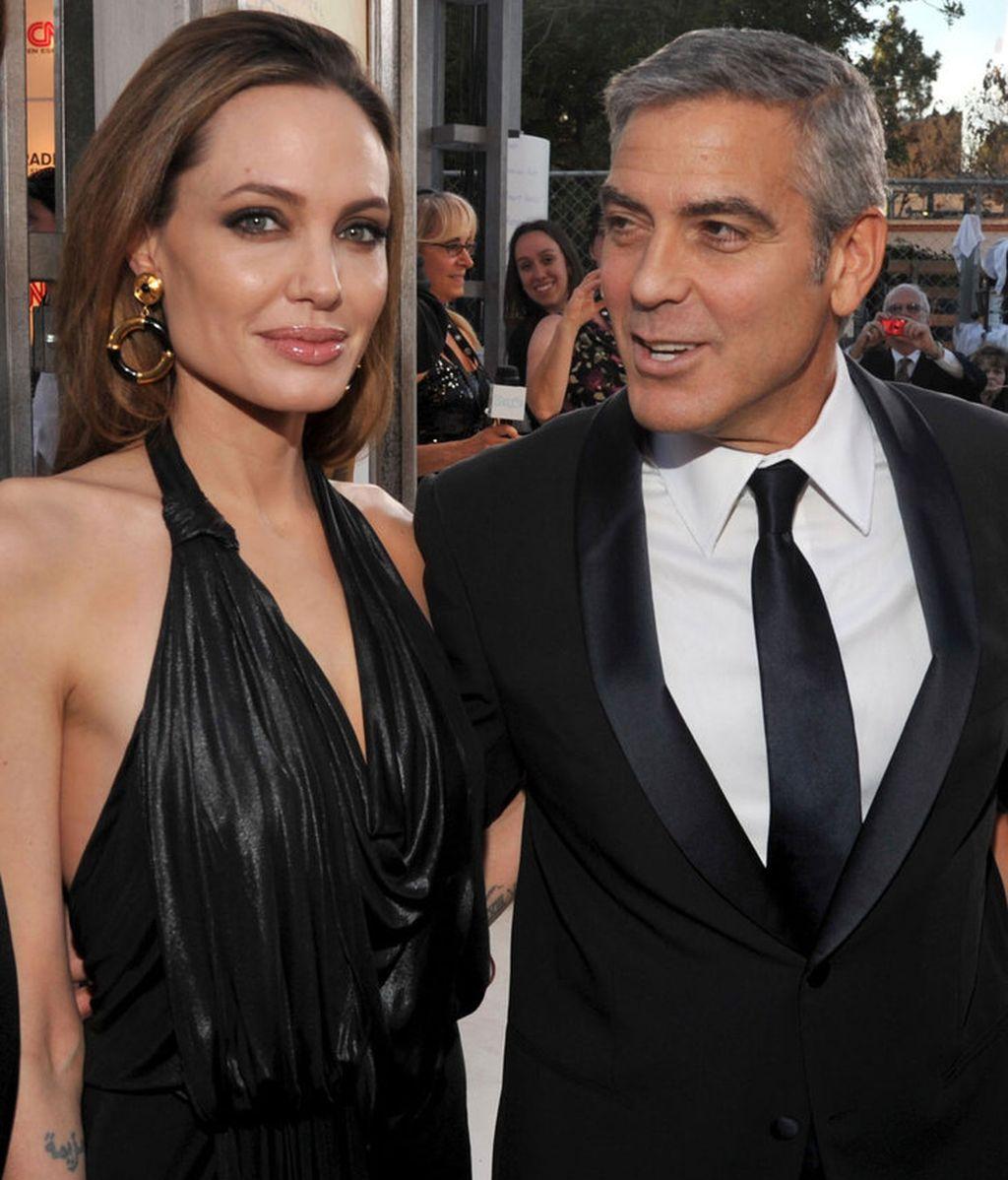 GeorgeClooney y Angelina Jolie