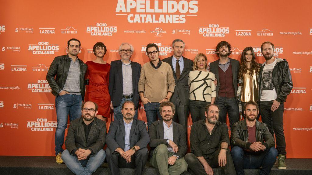 Preestreno de 'Ocho apellidos catalanes'