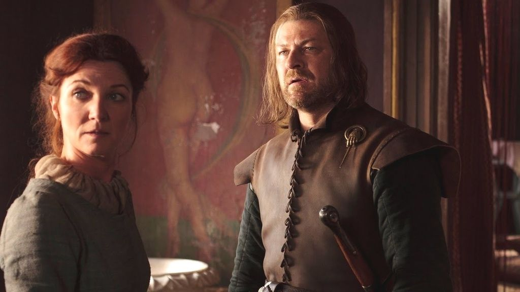 Ned y Catelyn Stark