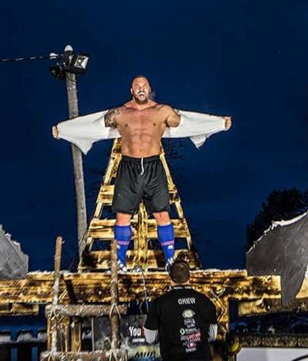 La Montaña bate un récord vikingo: levanta 650 kilos