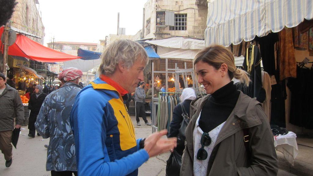 La actriz Blanca Suárez en 'Planeta Calleja', programa de Cuatro