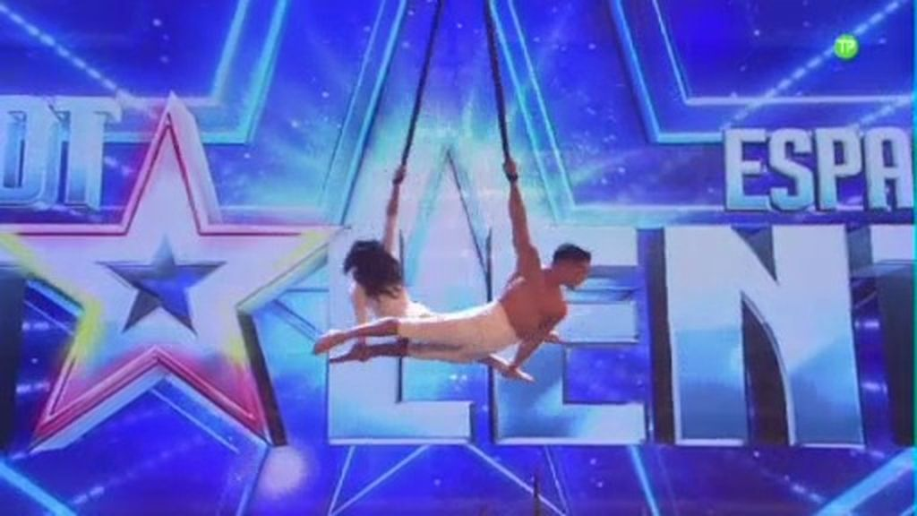 Acrobacias imposibles en 'Got talent España'