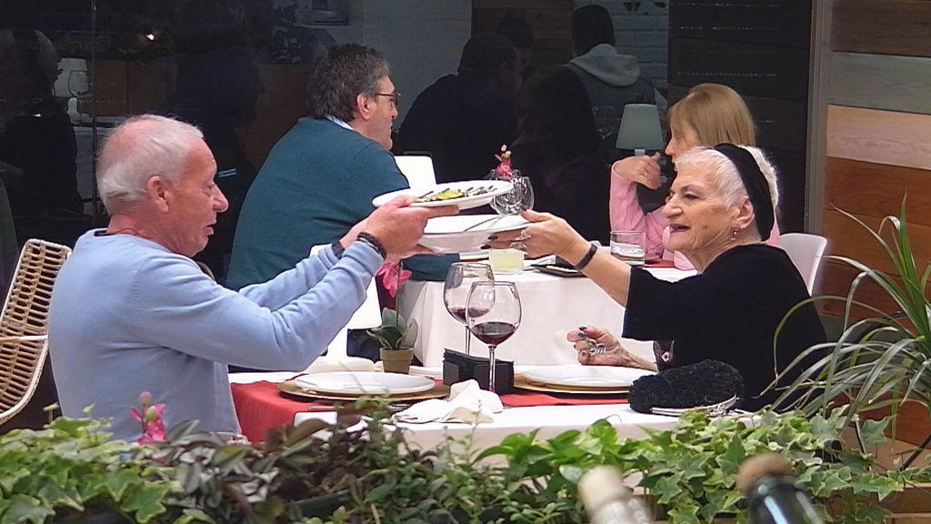 Golden ladys' buscan el amor en 'First dates' (Cuatro)