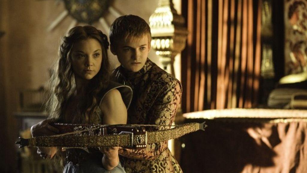 Sansa Stark y Joffrey