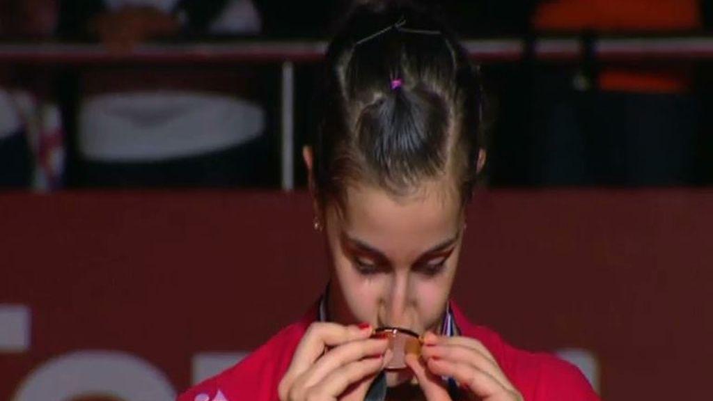 Carolina Marín y otras deportistas españolas demuestran que las chicas juegan a ganar