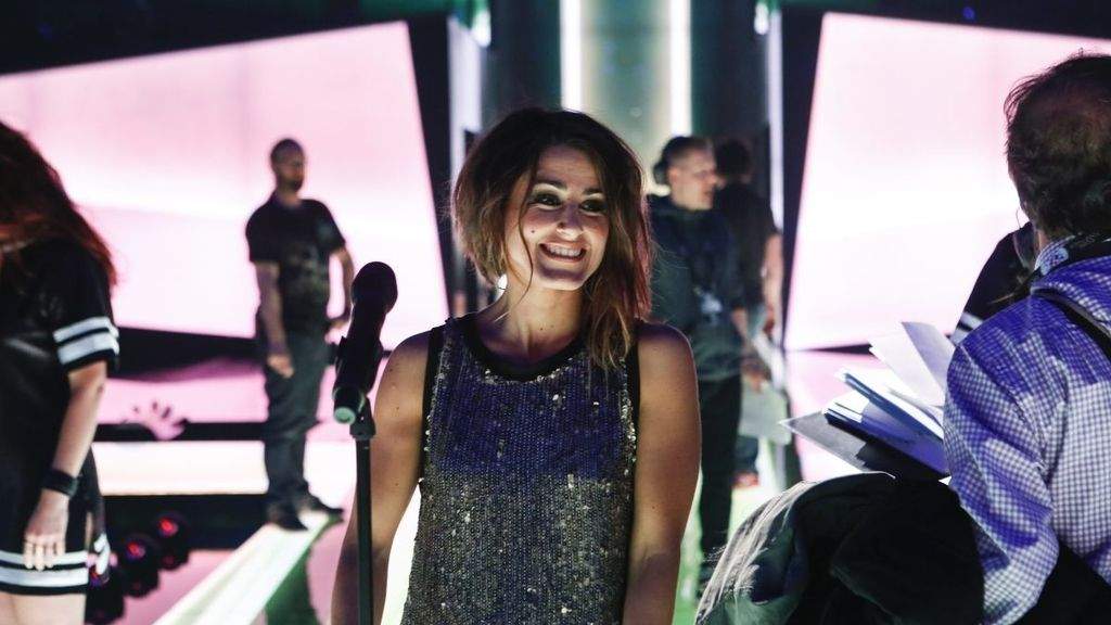Primer ensayo de Barei en Eurovisión