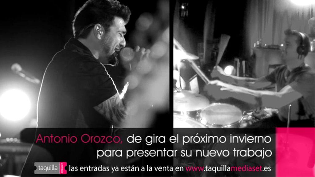 Comprar entradas Antonio Orozco en Taquilla Mediaset gira Destino