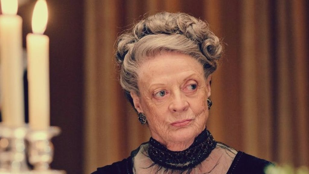 Violet Crawley en Downton Abbey