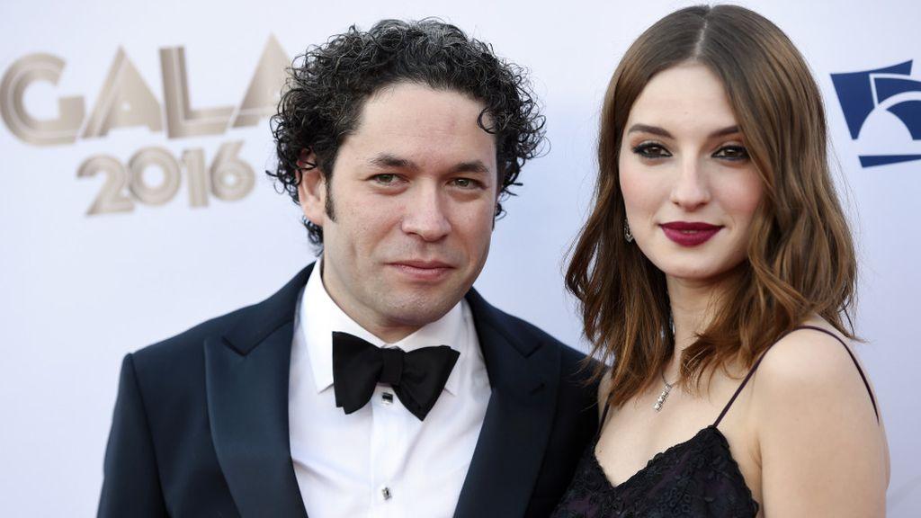 La pareja formada por María Valverde y Gustavo Dudamel