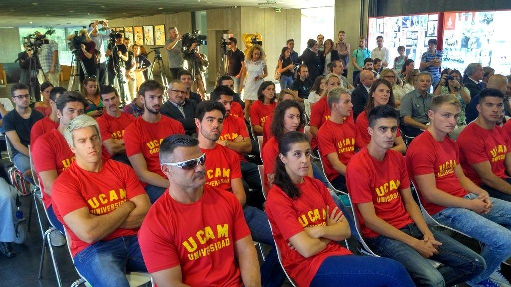 Medallistas Río 2016 en homenaje Comité Olímpico Español