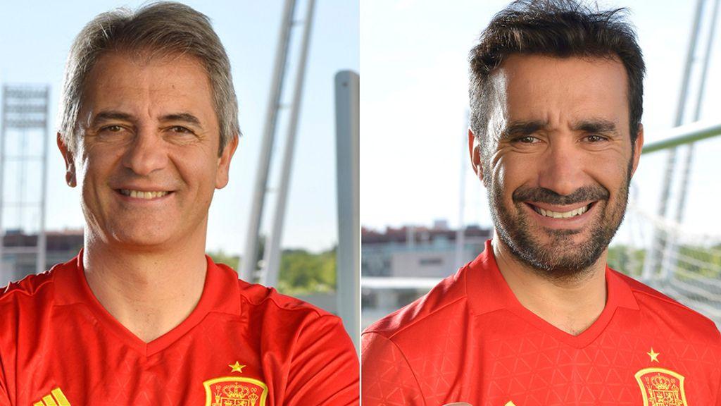 Manolo Lama y Juanma Castaño Eurocopa 2016