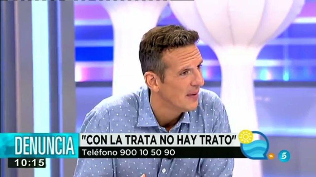 """Pepe Nieto: """"Esas mujeres no están ahí porque quieren. Detrás de esa sonrisa puede haber una esclava"""""""