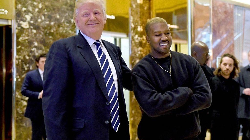 Reunión de Kanye West con Donald Trump en diciembre de 2016