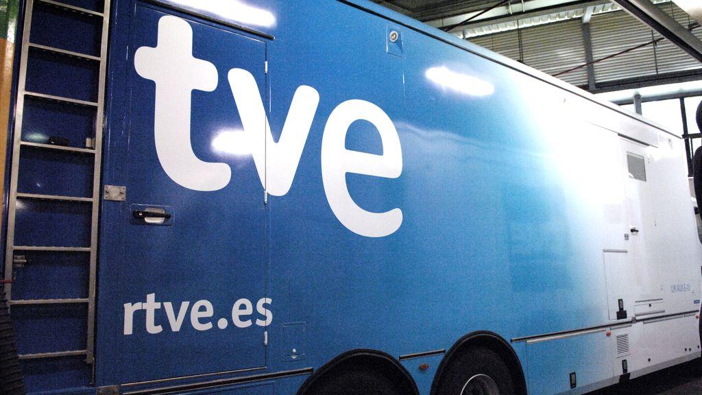 unidad móvil RTVE