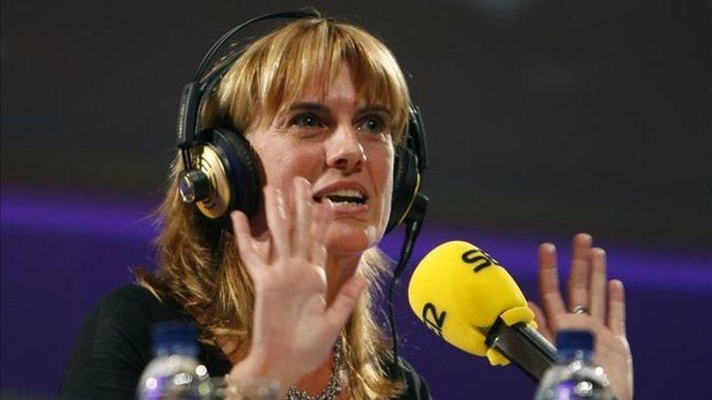 Gemma Nierga, presentadora de 'Hoy por hoy' en la cadena SER