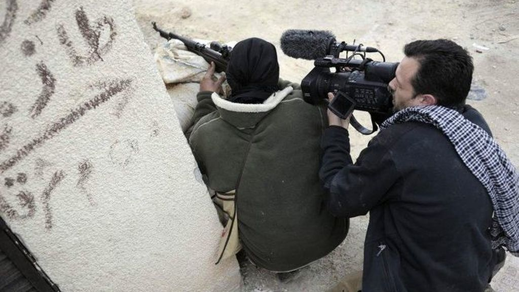 Reporteros en conflictos