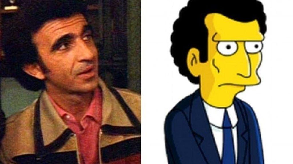 Montaje Frankie Carbone y Louie de 'Los Simpson'