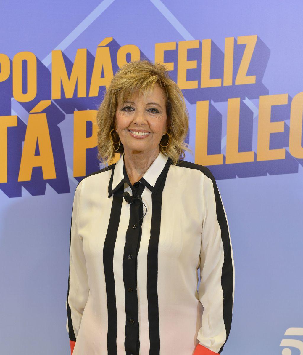 María Teresa Campos en la presentación de la octava temporada de '¡Qué tiempo tan feliz!'