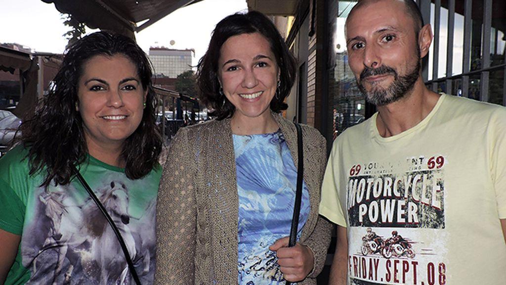 Alexandra, Vanessa y Antonio Esclerodermia