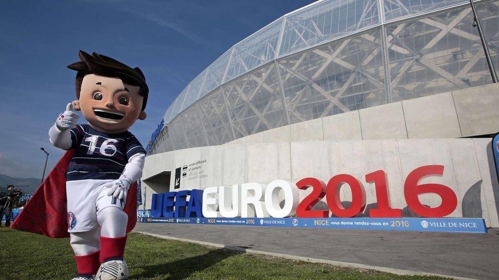 Mascota de la Eurocopa 2016