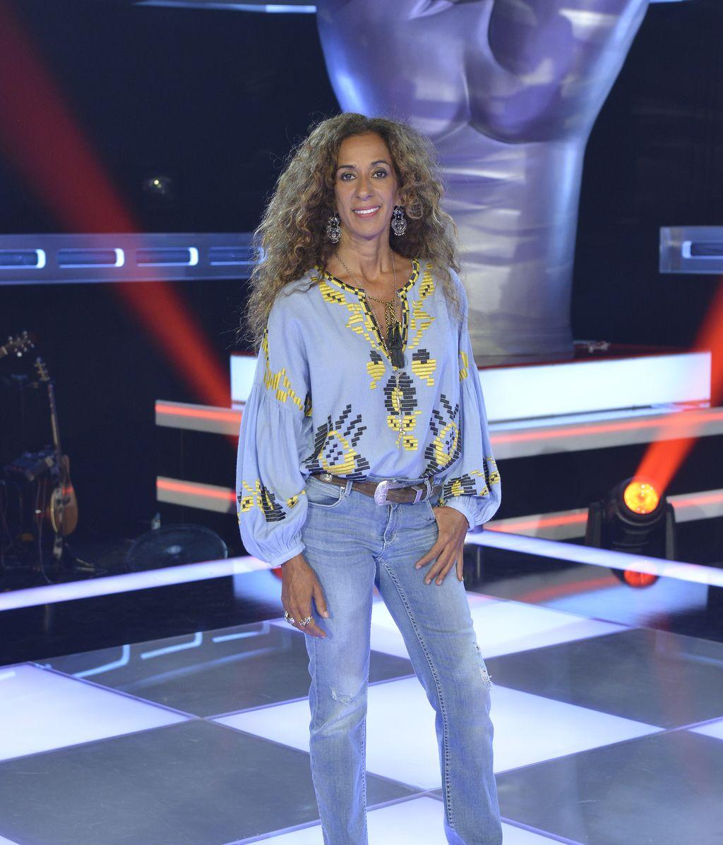 Rosario Flores, 'coach' de la cuarta edición del programa de Telecinco 'La voz kids'