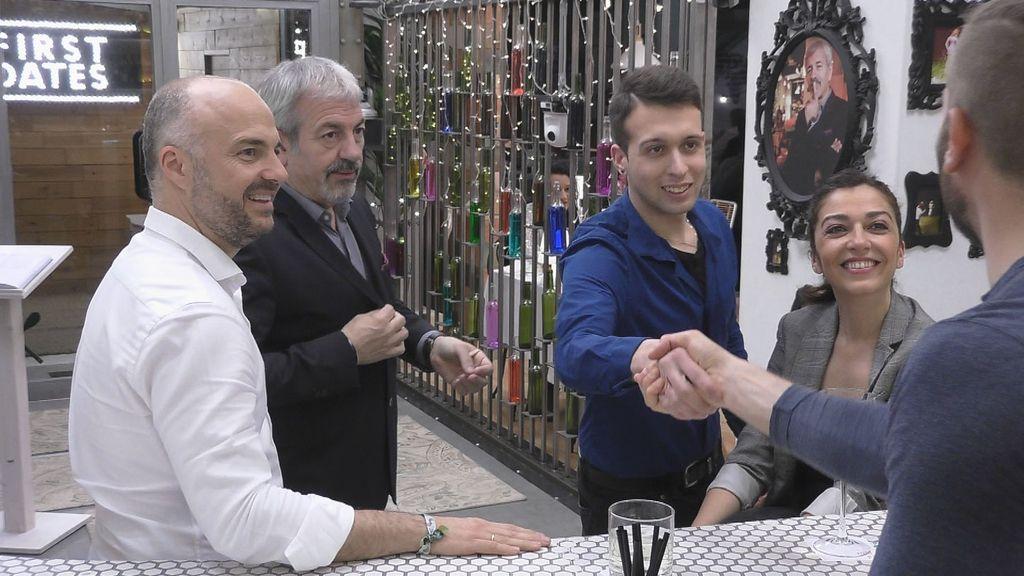 Javi Nieves y Mar Amate, locutores de Cadena 100, mediadores en 'First dates'