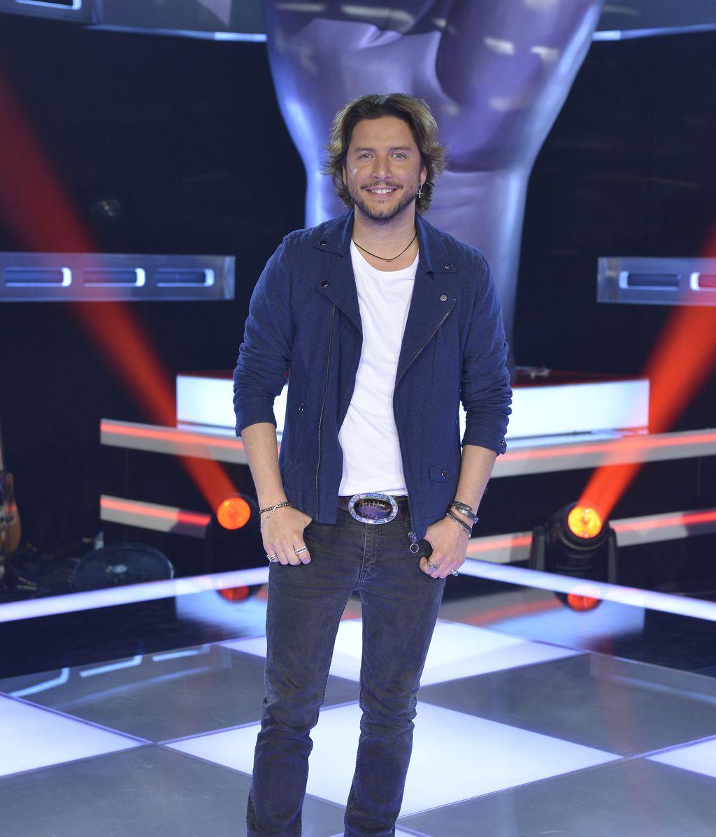 Manuel Carrasco, 'coach' de la quinta edición del programa de Telecinco 'La voz'