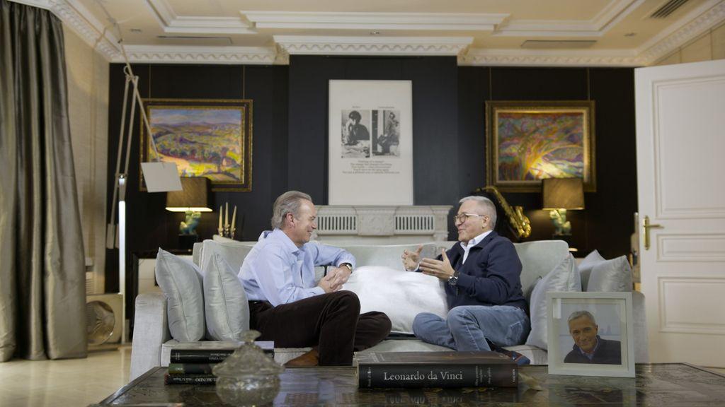 Bertín Osborne recibe a Xavier Sardà y Boris Izaguirre en 'Mi casa es la tuya'