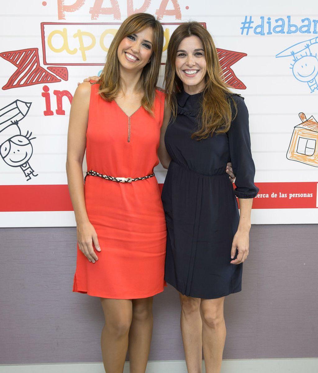 Sandra Sabatés y Raquel Sánchez Silva
