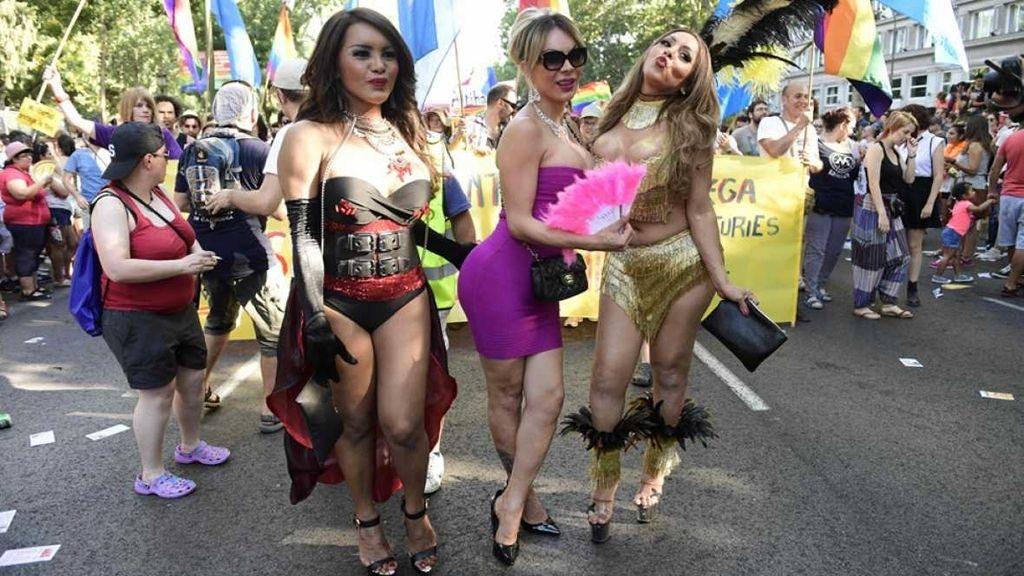 Desfile del Orgullo Gay en Madrid en 2016
