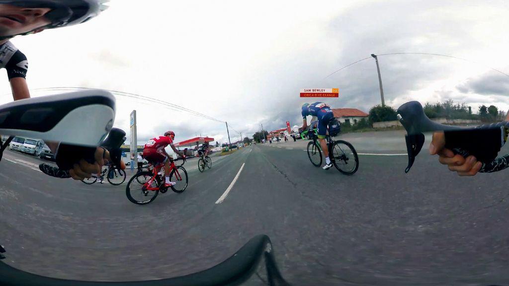 Una 'app' para seguir la Vuelta en el pelotón