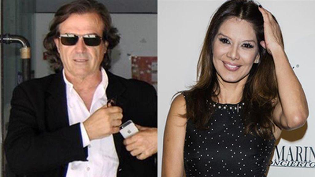 Ivonne Reyes y Pepe Navarro