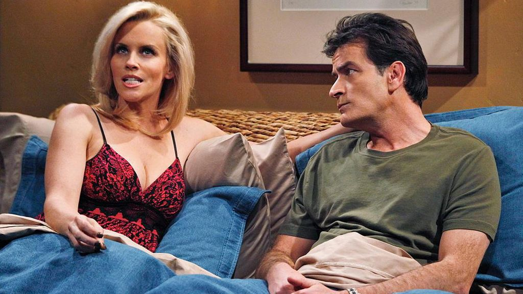 Jenny McCarthy y Charlie Sheen