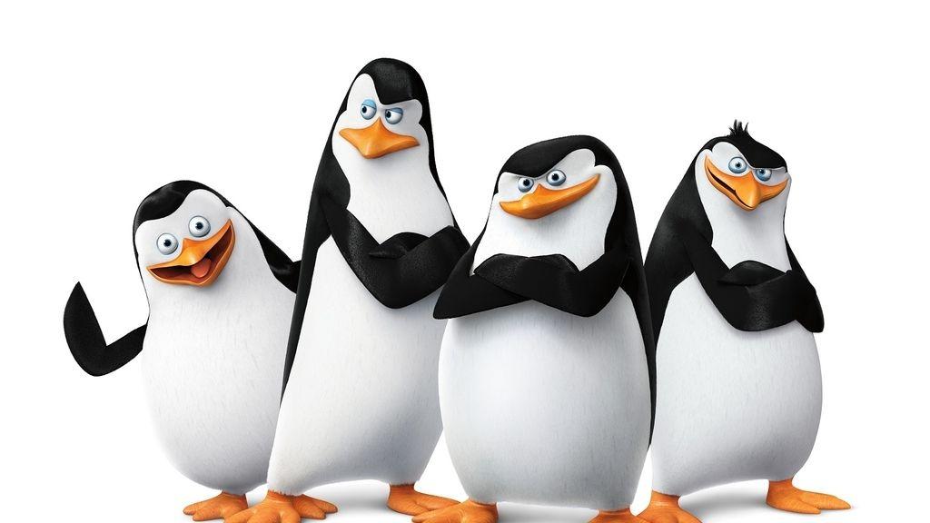 Los pingüinos de la película 'Madagascar'