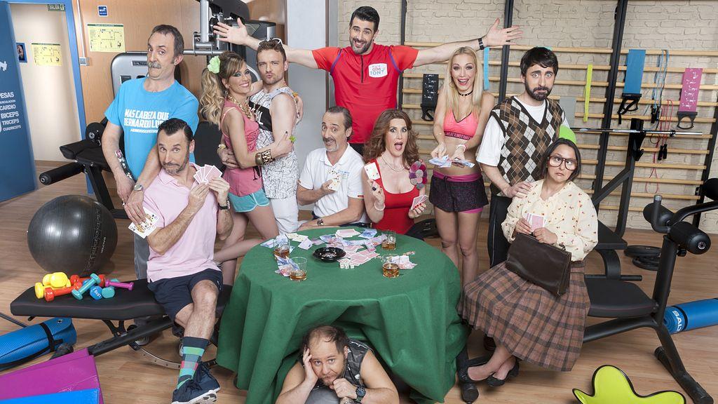 Elenco de actores de 'Gym Tony L.C.'