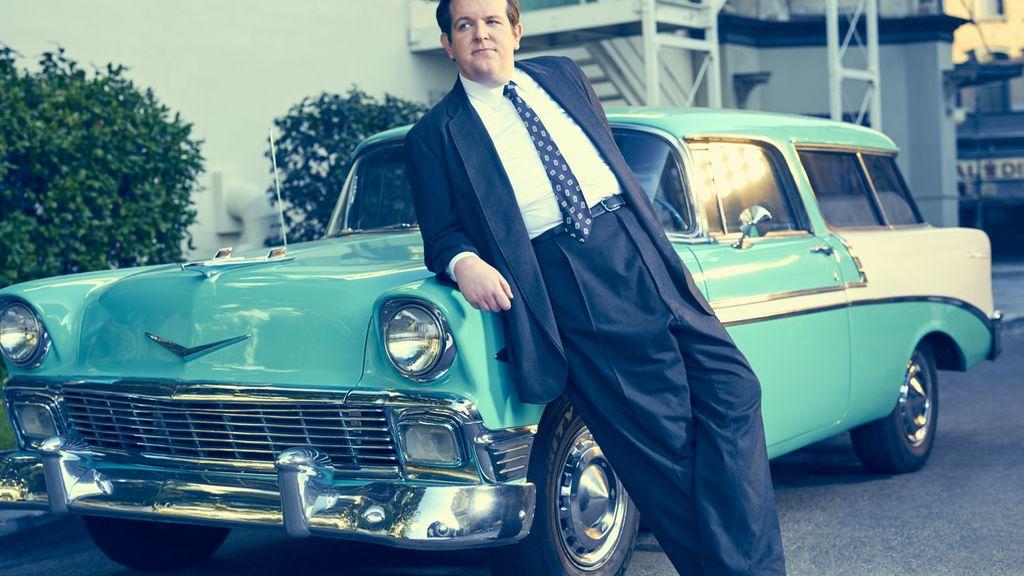 Dominic Burgess es Víctor Buono en 'Feud', de HBO