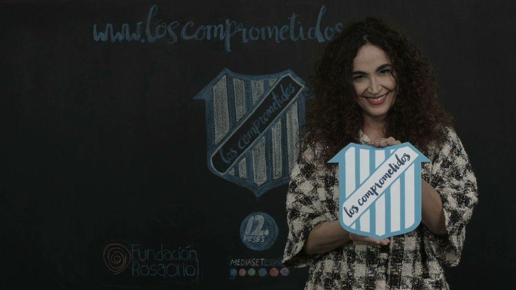 Cristina Rodríguez se suma a la lucha contra la pobreza infantil