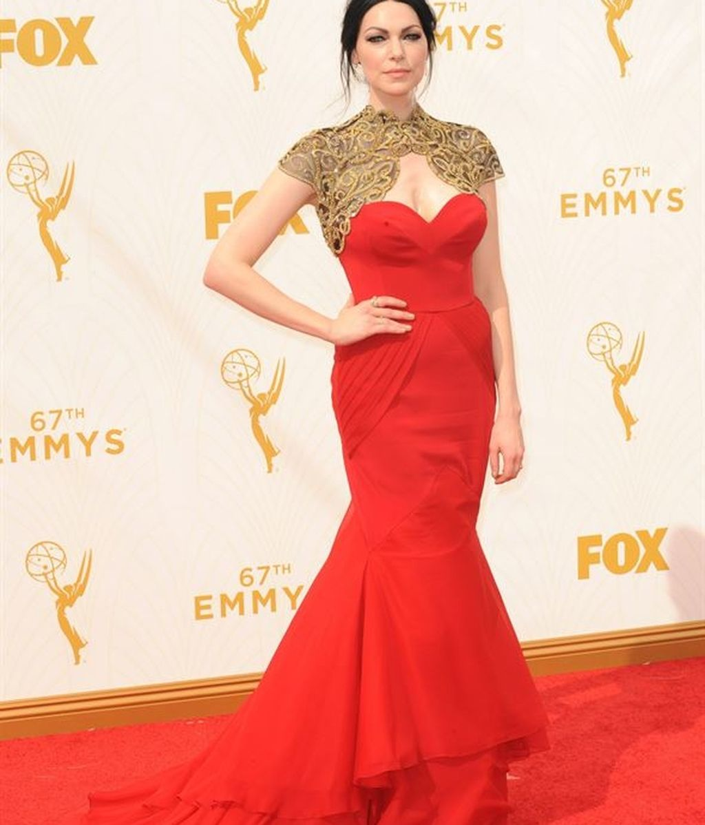 Actrices y modelos desfilaron por la alfombra roja con sus mejores galas
