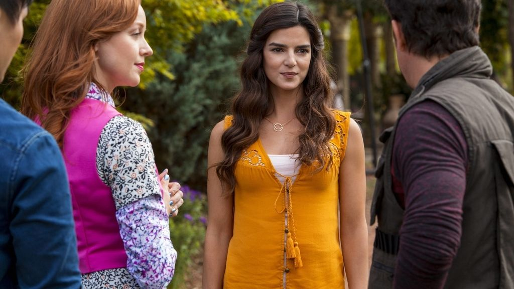 Clara Lago en 'The librarians' (Syfy)
